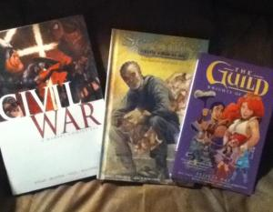 pic of civil war, the shepherd's tale, and the guild: the knights of good